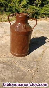 Vendo lechera antigua de hierro