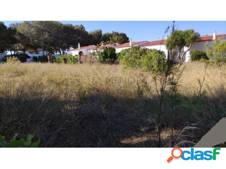 Parcela edificable a 100 metros de la playa Cala'n Blanes