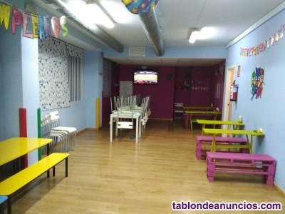 Se traspasa centro de ocio infantil/parque de bolas