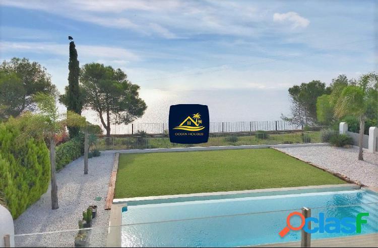 Villa de Lujo en Primera Línea de Mar en Javea · BALCON AL