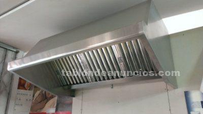 Campana de acero inoxidable para extraccion de humos