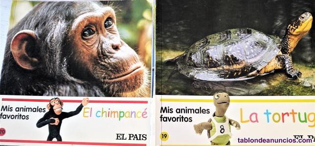 """Colección completa """"mis animales favoritos"""""""