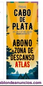 Entrada festival cabo de plata + zona descanso atlas