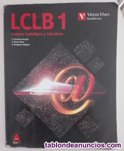 Lengua castellana y literatura 1º de bachiller