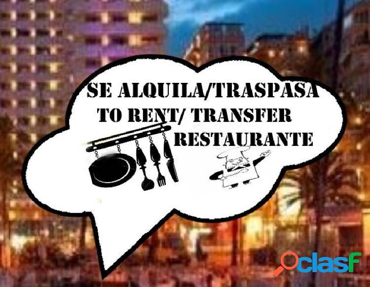 Restaurante-cafetería a pleno rendimiento en el centro de