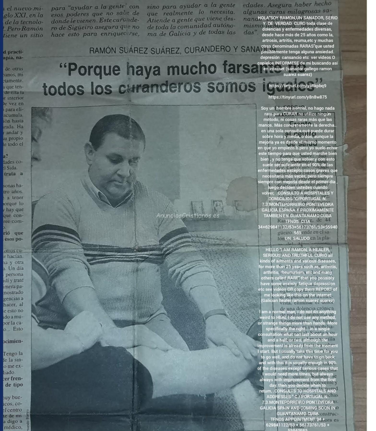 SOY UN EXPERTO Y FORMAL SANADOR DE PONTEVEDRA GALICIA