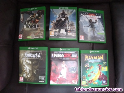 Xbox one day one + kinect + 16 juegos