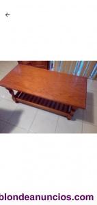 Mesa centro madera de pino