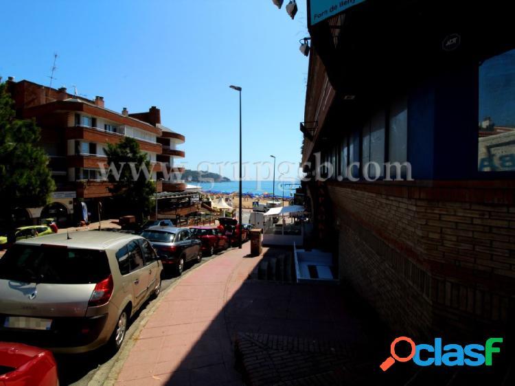 Plaza de parking en la Playa de Lloret de Mar.