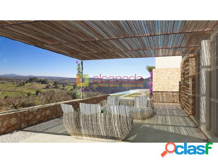 Solar urbano con proyecto en Sineu, Mallorca.