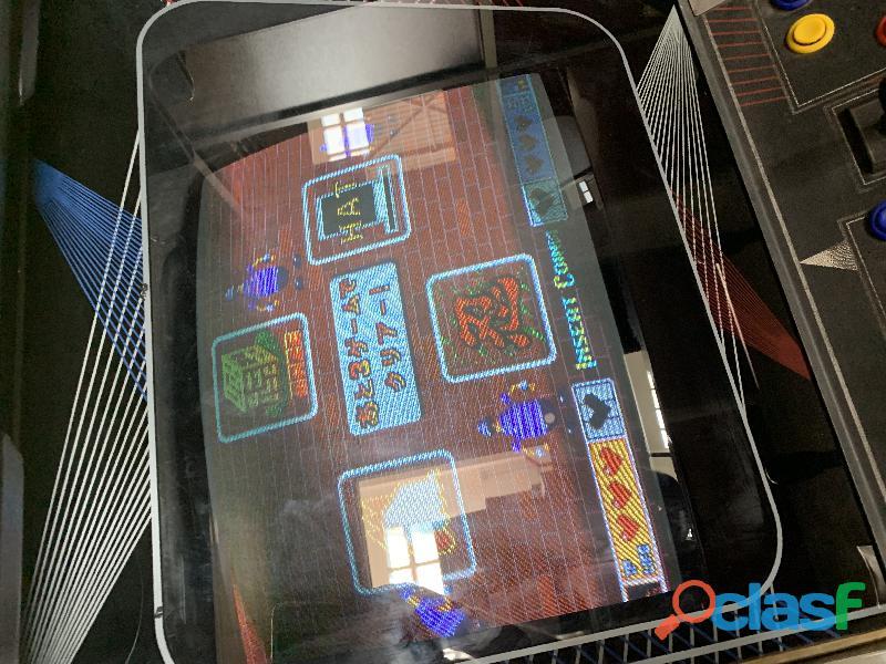 Máquina arcade new kit original