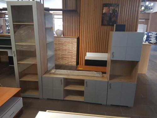 Mueble comedor salón nuevo de tres módulos