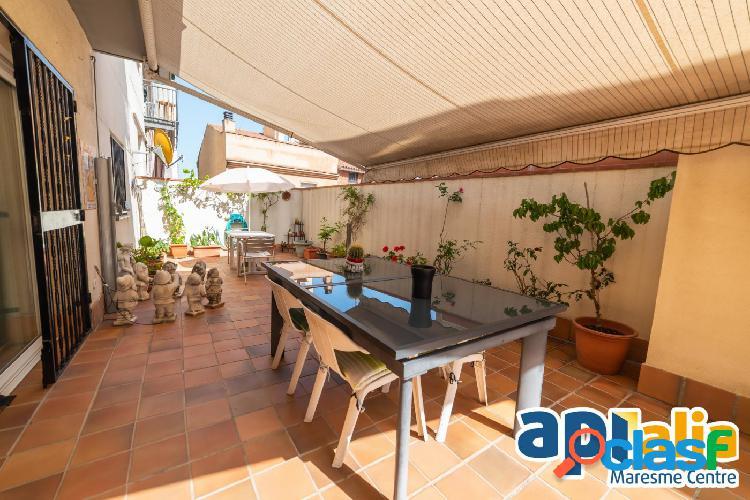 Planta baja con terraza en Mataró en zona Vista alegre