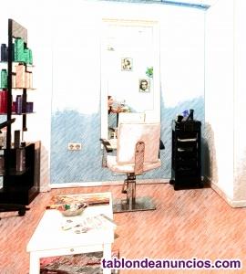 Traspaso peluquería en funcionamiento