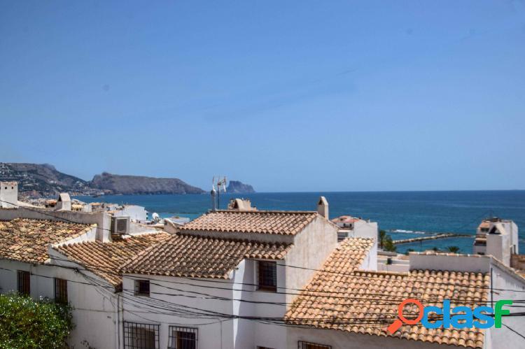 Coqueto apartamento con vistas al mar en el casco antiguo de