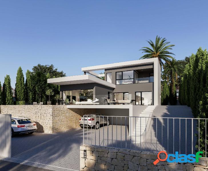 Fantástica villa de nueva construcción con vistas