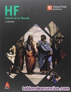 Se vende libro de texto de historia de la filosofía de