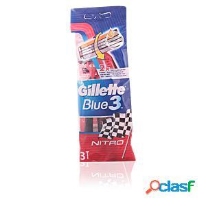 BLUE3 NITRO cuchilla afeitar desechable 3 uds.
