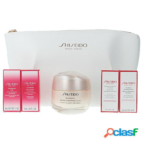 SHISEIDO BENEFIANCE WRINKLE SMOOTHING CREAM LOTE 5 pz