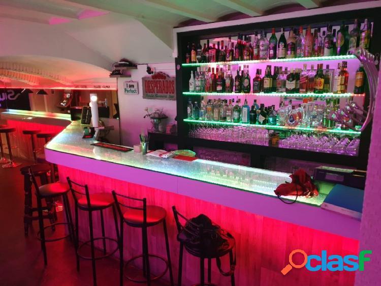 Bar en traspaso en Sitges en pleno centro del pueblo