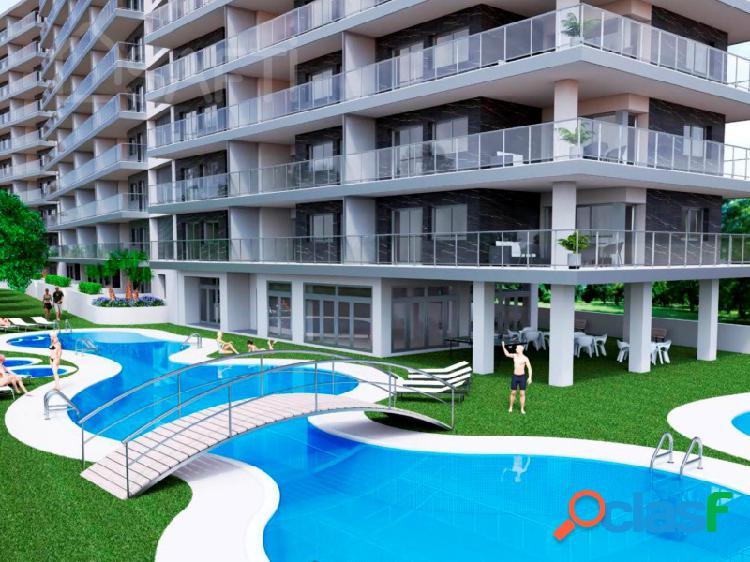Venta de apartamentos a estrenar en 2ª línea de playa en
