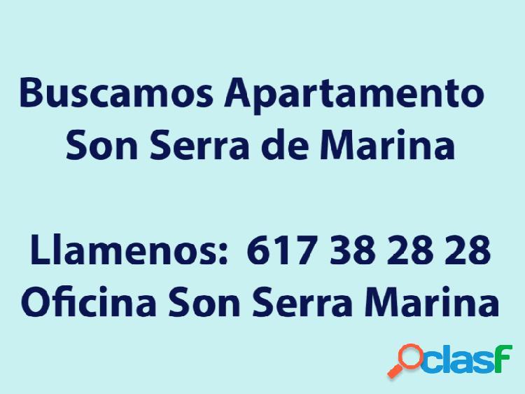 Buscamos apartamentos en Son Serra de Marina