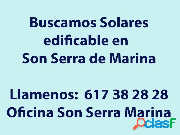 Solares en Son Serra De Marina visite nuestra oficina en