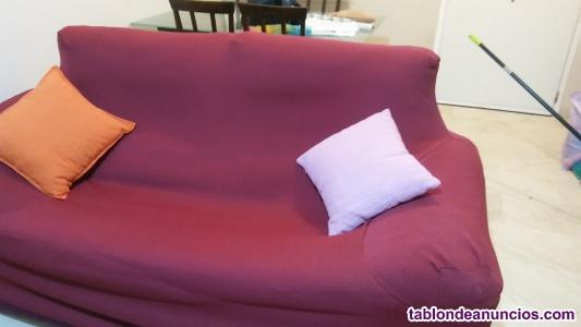 Vendo sofa de dos plazas