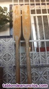 Venta de remos de madera