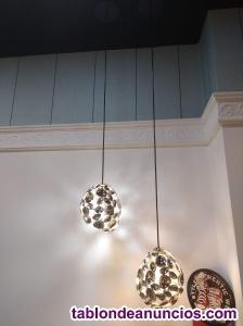 2 lámparas y 2 apliques
