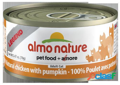 Almo nature Cat Hfc Legend Natural Pollo y Calabaza 6x70 GR
