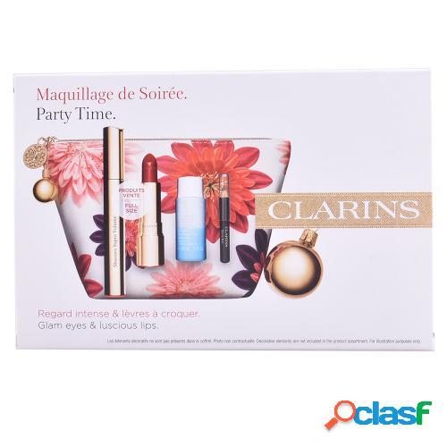CLARINS MASCARA SUPRA VOLUME LOTE 4 pz