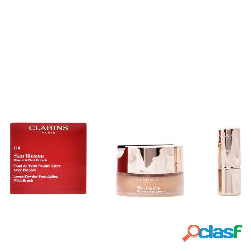 CLARINS SKIN ILLUSION mineral & plant extracts