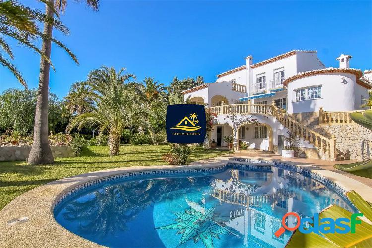 Espléndida Villa con vistas al Mar en Javea · BALCON AL