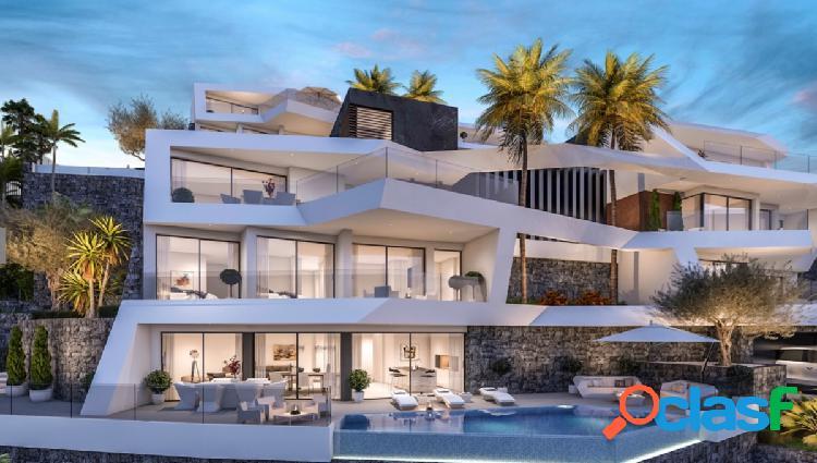 Exclusiva villa de lujo de nueva construcción con