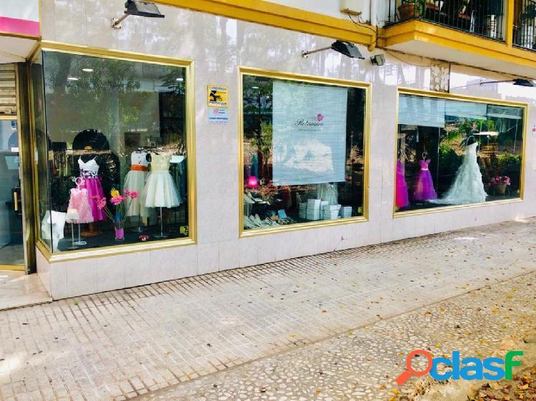 Local comercial de 100 m2 en Mijas.