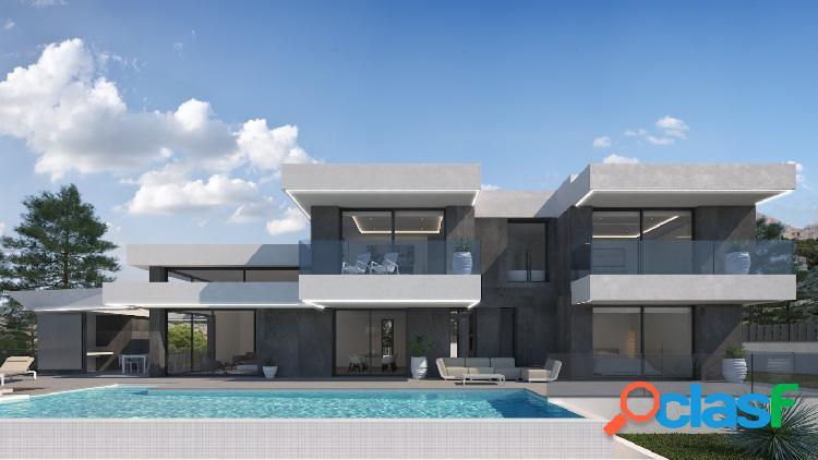 Villa de diseño con vistas al mar en Sierra de Altea