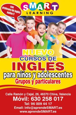 Cursos de inglés para ninos y adolescentes