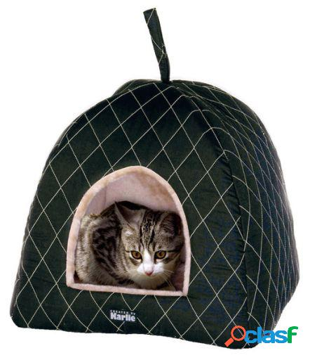 Karlie Flamingo Cama cueva para gatos super de luxe 44x43x41