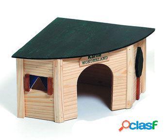 Karlie Flamingo Casa Roedor para Esquina 24 X 34 X 16 Cm.