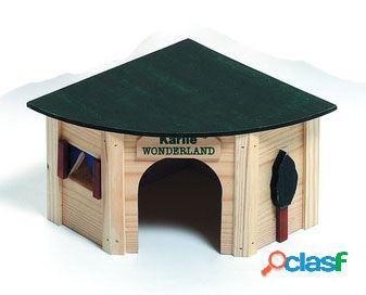 Karlie Flamingo Casa roedor para esquina 44 x 31 x 19 cm
