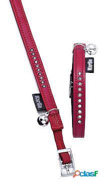 Karlie Flamingo Collar gato Art Leather Plus Montecarlo.