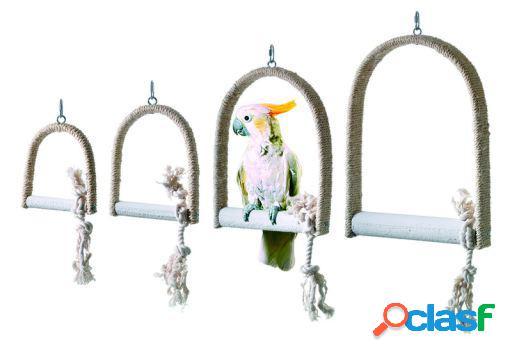 Karlie Flamingo Columpio sisal para aves tama