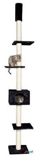 Karlie Flamingo Rascador gato cometa gris 35 x 35 x 263 cm