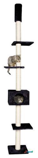 Karlie Flamingo Rascador gato cometa negro 35x47x263cm
