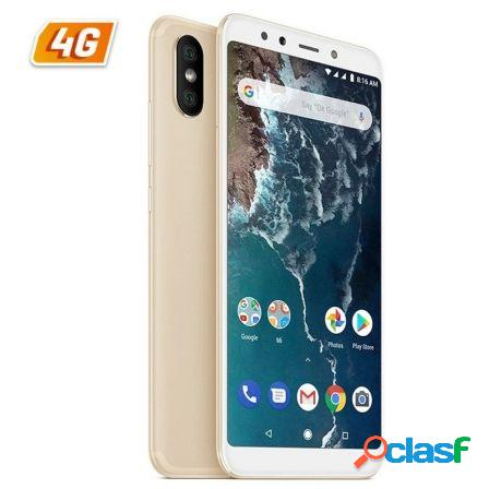 """Smartphone movil xiaomi mi a2 oro - 5.99""""/15.2cm -"""