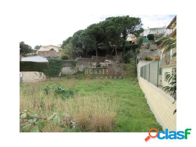 Sol en venta de 691 m2 en Lloret de Dalt, Lloret de Mar,