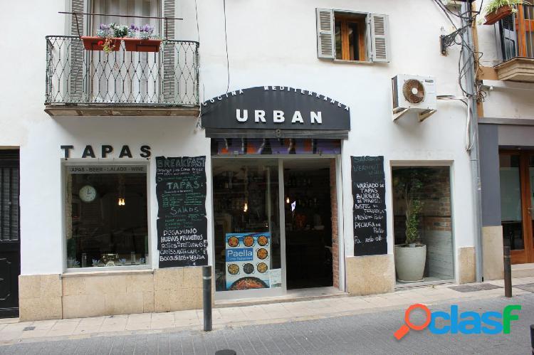 Traspaso restaurante en zona centro de Palma