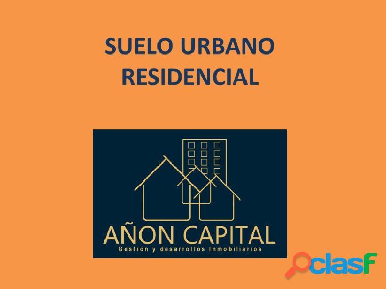Suelo Urbano en el Centro de Zaragoza