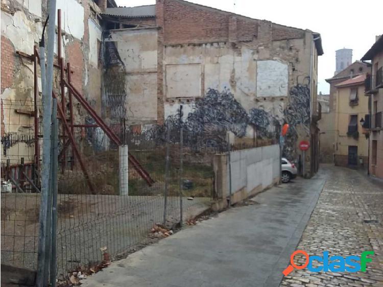 Suelo Urbano en el centro de Tudela (Navarra)